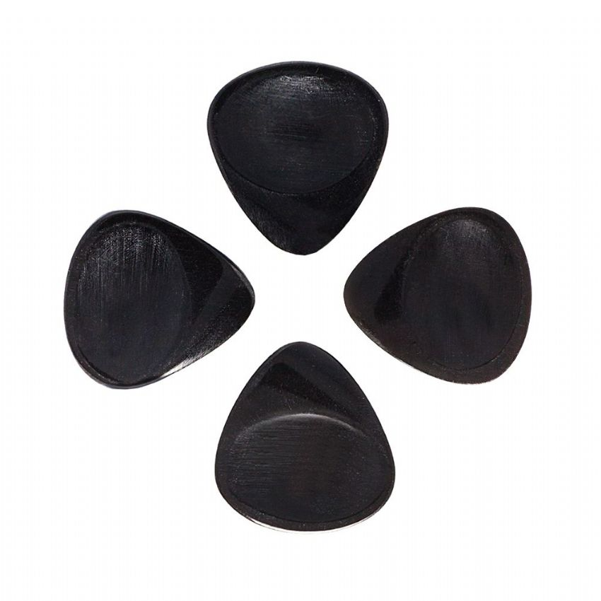 Stub Tones - Black Horn - 4 Guitar Picks | Timber Tones